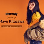 北澤舞悠 『one way』2018 WINTER COLLECTIONイメージモデル
